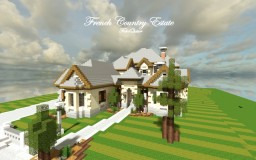 French Country Estate | Cubed Creative Minecraft Project