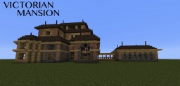 Furnished Victorian Mansion Minecraft Map & Project
