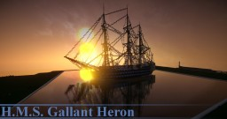 H.M.S. Gallant Heron [100 sub-special] Minecraft Map & Project