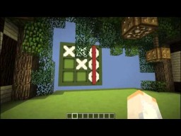 Tic Tac Toe in Minecraft