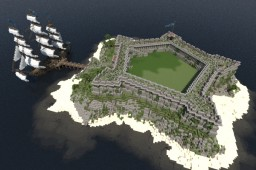 Fort James - Caribbean star fort Minecraft Map & Project