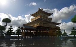 金閣寺 Kinkaku-ji ¨Temple of the golden pavilion¨ Minecraft Map & Project