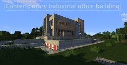 LIG HQ  ||  Contemporary Industrial office building  || Minecraft Map & Project