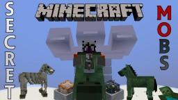 13 Secret Entities / Mobs in Minecraft Minecraft