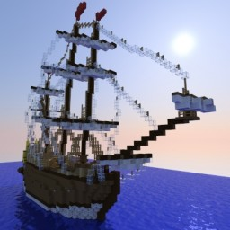 Medieval Ship Minecraft Map & Project