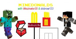 MineDonalds Structure Schematic Minecraft Map & Project