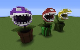 Piranha Plant(Packun Flower) Minecraft
