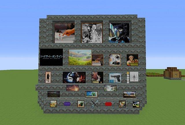 Minecraft Sword Craft Online Texture Pack