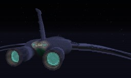 Starship Phoenix - Ratchet & Clank Minecraft Map & Project