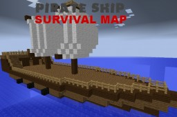 Pirate Ship Survival Map Minecraft Map & Project