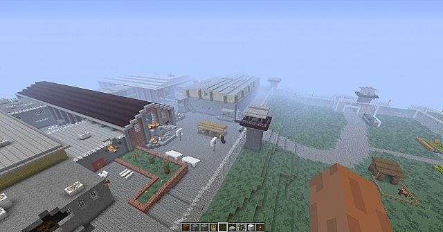 The walking dead the prison 1 6 4 minecraft project for Crafting dead server download