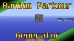 Random Parkour Generator in Vanilla MC