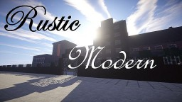 Rustic Modern Minecraft Texture Pack