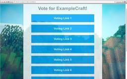 [Web-Template] Server Voting Website
