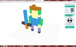 how to make 3d voxel art