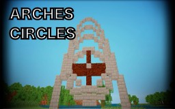 Minecraft Building Concepts - Arches and Circles