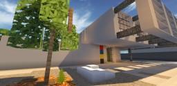 RhineBeck House :: Contemporary Collab :: DarenJoseph & i2fgJensonRS :: [WoK] Minecraft Map & Project