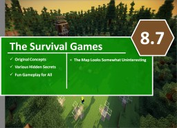 [C's] Minecraft Map Reviews - The Survival Games