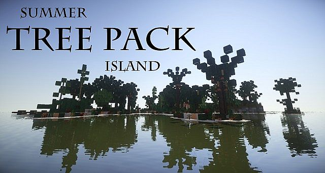 Summer Tree Pack Island | WoK Minecraft Project