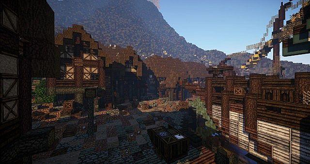 The village outside Dragonstone Castle