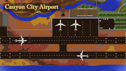 Canyon City Airport Minecraft Map & Project