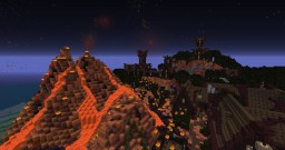 Netheria - the deadly Island Minecraft Map & Project