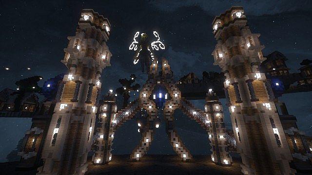Holy87 Resource Showcase: [Showcase]Elf Holy Land--by Sopypie Minecraft Project