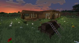 Wooden House by Mar2ius Minecraft Map & Project