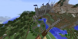 Gothic Castle Build on Hypercraft Minecraft Map & Project