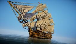 HMS victory Minecraft