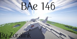BAe 146 (5 Liveries) Minecraft Map & Project