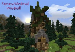Fantasy/Medieval Windmill-Sneak Peak for Future Project!!