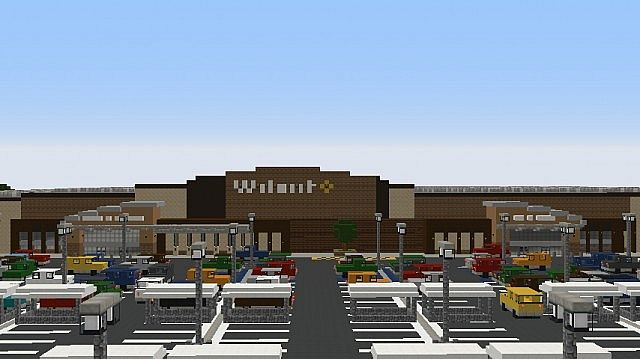 Walmart store minecraft project for Craft com online shopping