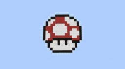 Mario Mushroom Spleef Minecraft Map & Project