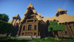 Island Mansion Minecraft Map & Project