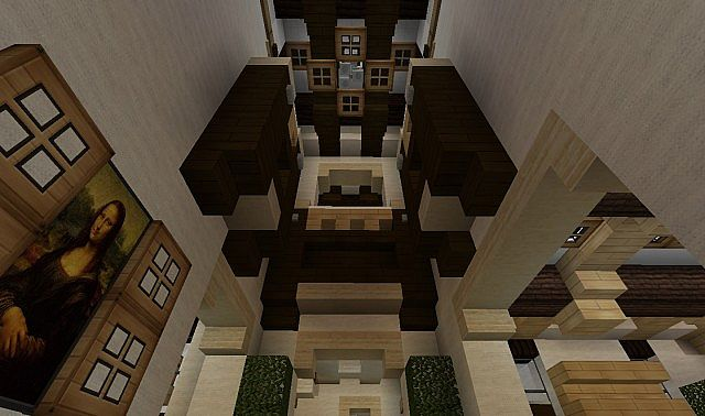 Georgian home cubed creative minecraft project for Minecraft dining room designs
