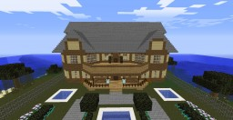 My Mansion (updated for 1.8) Minecraft Map & Project