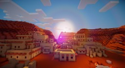 Navajo Indian Ruins (Helicopter Crash/Scavenger Hunt) Minecraft Map & Project