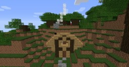 a house in a hill!! Minecraft Map & Project