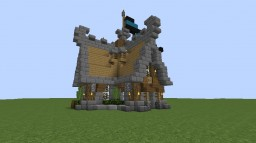 Medieval Tower House Minecraft Project