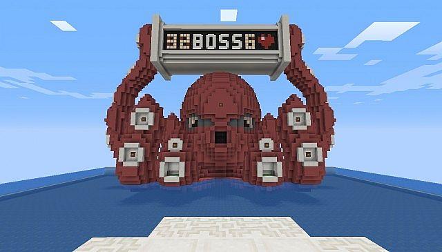Kraken Boss Fight 18 Minecraft Project