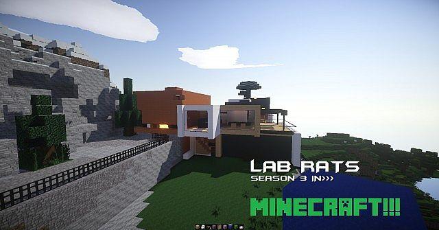 Minecraft Maps Lab Rats Bionic Island