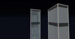 Doktorn88 Multiplayer Builds; Twin Towers, Bank of China, Floating Island Minecraft Map & Project