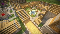 Superflat CITY - Village Make-Over (As seen on Superflat Survival by: MinecraftManifestTV Minecraft Map & Project
