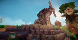 Wind Mill Medieval Steam Punk {Download} Minecraft Map & Project
