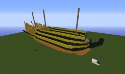 HMS Bellona, 3rd Rate Ship of the Line Minecraft Map & Project