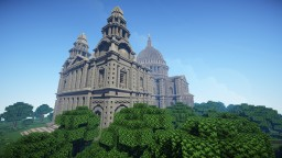 Cathedral (St.Paul's 1:1 Scale) Minecraft Map & Project