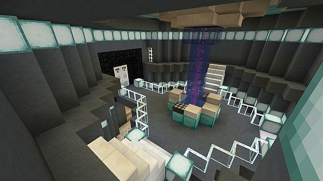 The Repaired TARDIS Interior