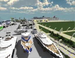 Modern Port Minecraft Map & Project