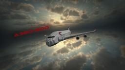 Airbus A380-800 Minecraft Map & Project
